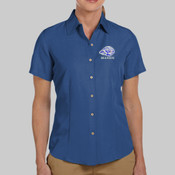 EMC Mason - M560W Harriton Ladies' Barbados Textured Camp Shirt